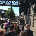 Fans lined up around block to get in for Griffey's Hall of Fame night